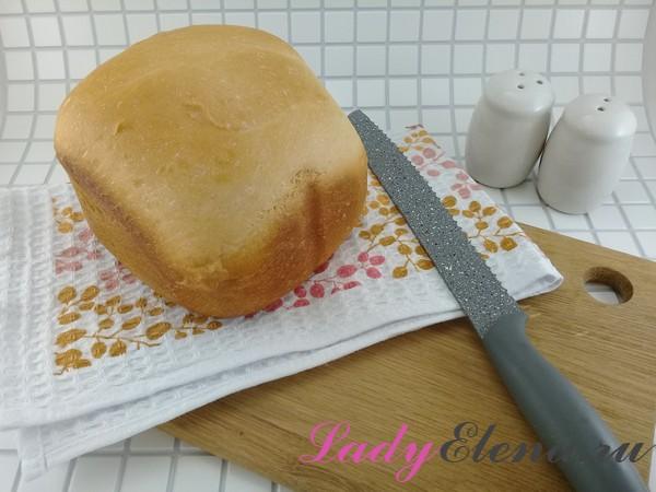 Батон в хлебопечке рецепт с фото