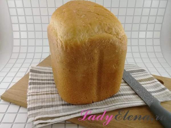 Белый хлеб в хлебопечке фото-рецепт