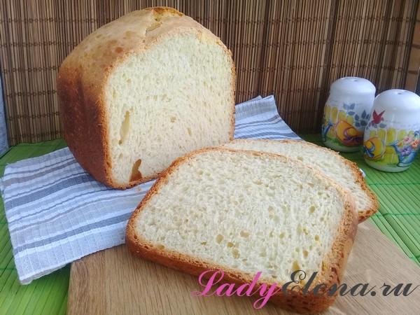 Хлеб на сухих дрожжах в хлебопечке