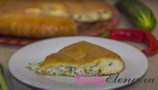 Осетинский пирог с сыром фото-рецепт