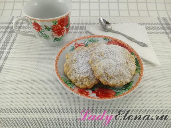 Печенье с яблоками фото-рецепт