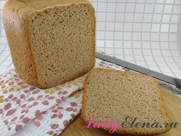 Простой хлеб в хлебопечке фото-рецепт