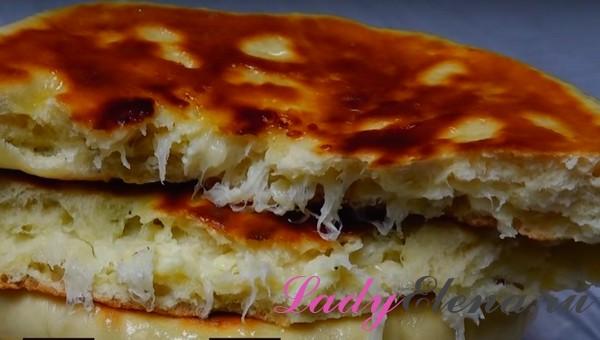Хачапури с сыром фото-рецепт