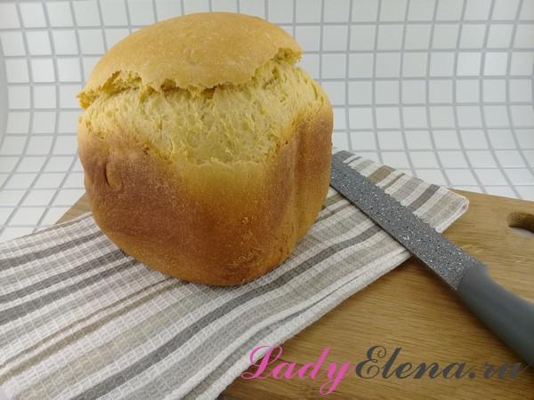 Хлеб на молоке фото-рецепт