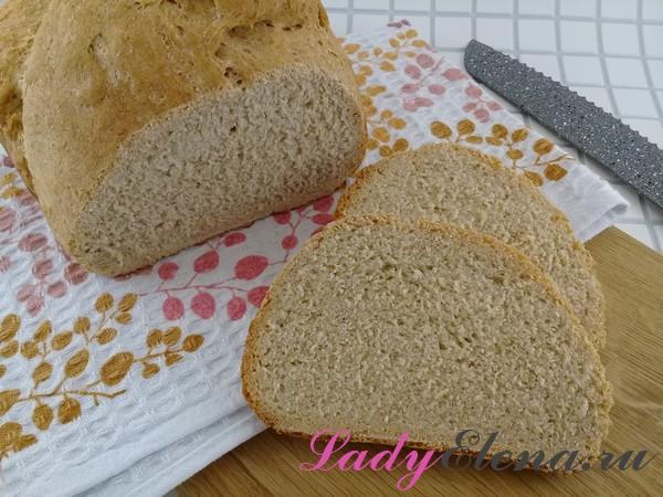 Хлеб с отрубями в хлебопечке