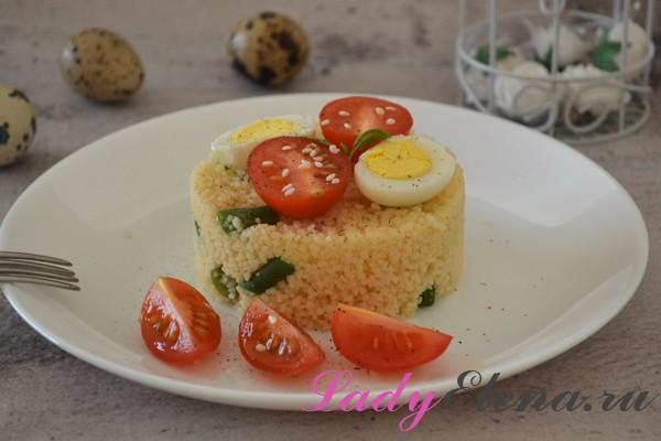 Кускус с овощами фото-рецепт