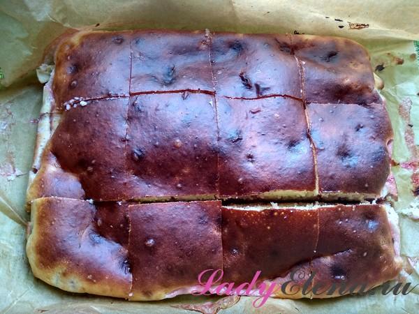 Пирог с клубникой фото-рецепт