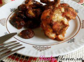 Курица с фасолью фото-рецепт
