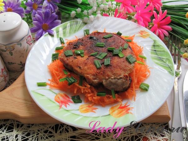 Стейк из свинины фото-рецепт