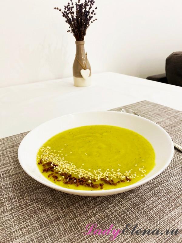 Суп-пюре из кабачков фото-рецепт