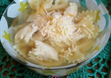 Суп с макаронами фото-рецепт