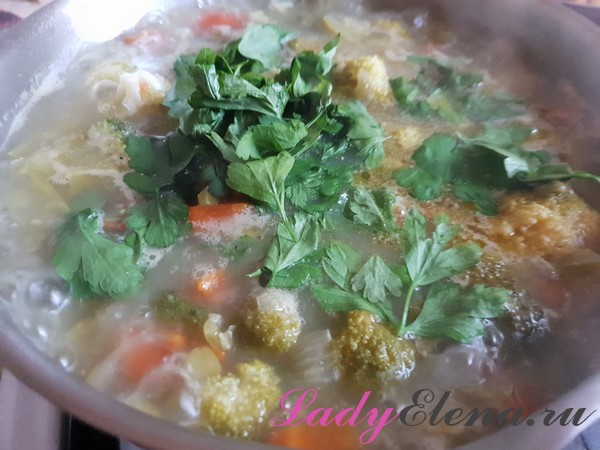 Суп из брокколи фото-рецепт