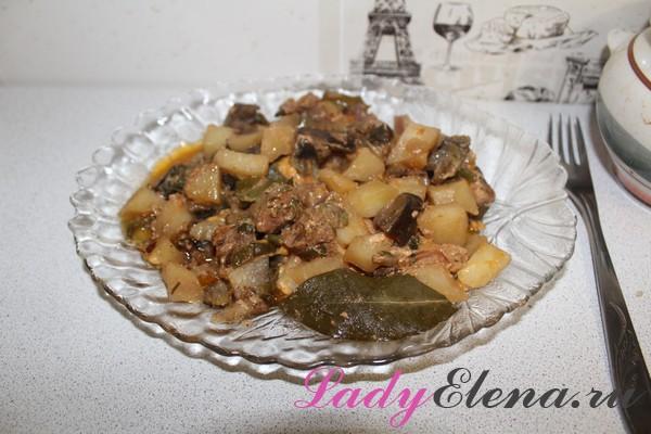 Овощи в горшочках фото-рецепт