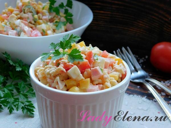 Салат с роллтоном фото-рецепт