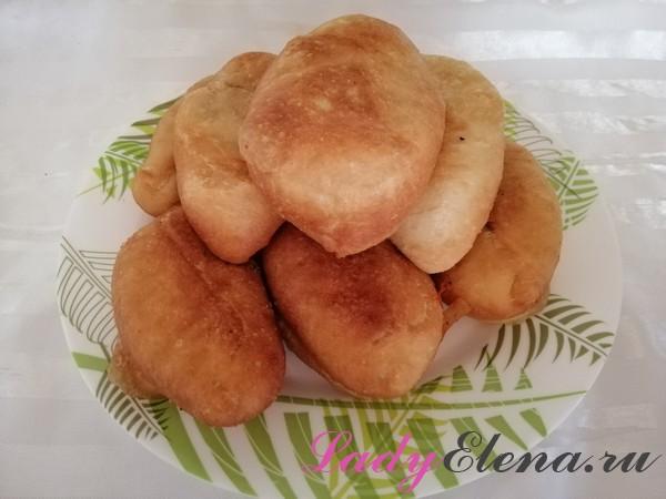 Тесто для жареных пирожков фото-рецепт