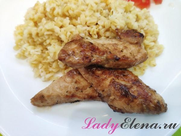 Курица в соевым соусе фото-рецепт
