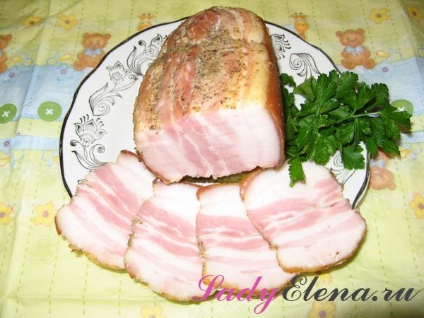 Свиная грудинка в духовке - как приготовить