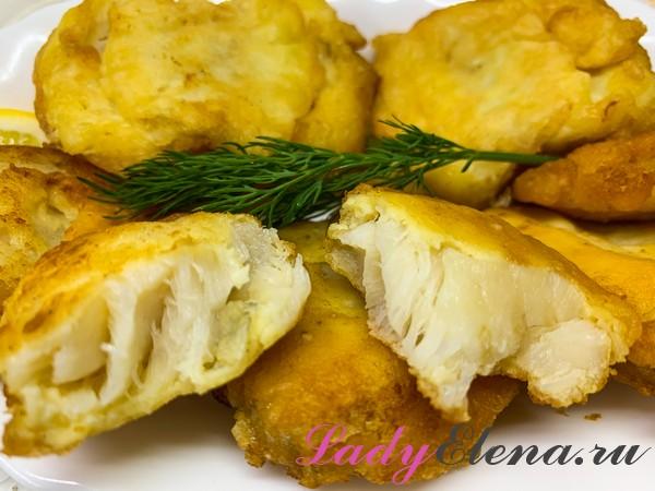 Лимонелла в кляре фото-рецепт