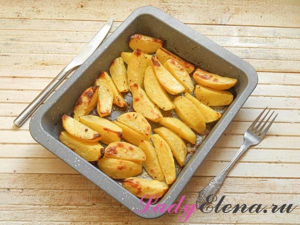 Картошка по-деревенски фото-рецепт