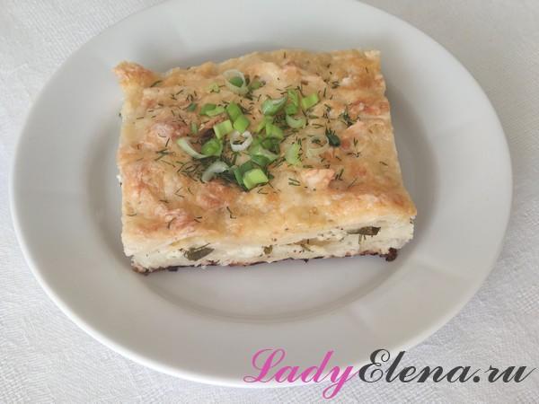 Пирог из лаваша рецепт с фото