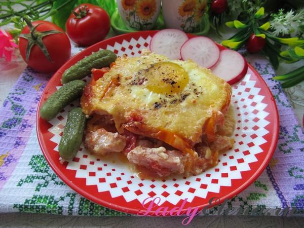 Яйца в духовке рецепт с фото