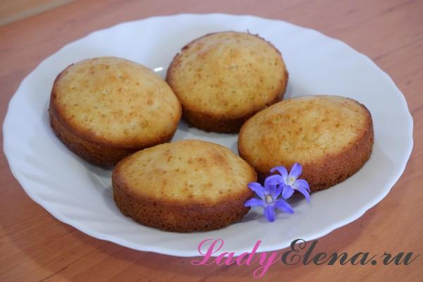 Лимонные кексы рецепт с фото