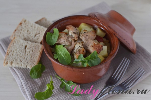 Свинина с картошкой фото-рецепт