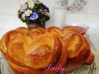 Булочки сердечки – 2 фото рецепта вкусной домашней выпечки