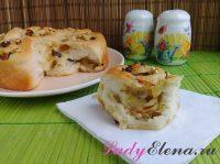Пирог с луком в духовке: 4 фото-рецепта с яйцом, картошкой, мясом