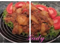 Картошка с фаршем на сковороде: пошаговый рецепт с фото