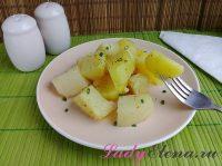 Картошка в рукаве: 3 фото рецепта. Просто и вкусно!