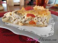 Киш с курицей и грибами: 3 фото-рецепта открытого пирога