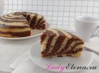 Манник Зебра: 2 фото рецепта идеального пирога