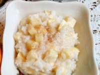Рисовая каша с яблоками: вкусно, просто, бюджетно