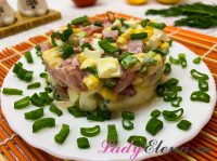 Салат с кукурузой и помидорами: 4 фото-рецепта полезной закуски