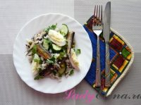 Салат со шпротами: ТОП 3 фото-рецепта