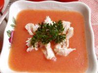 Томатный суп пюре: 3 фото-рецепта оригинального первого блюда